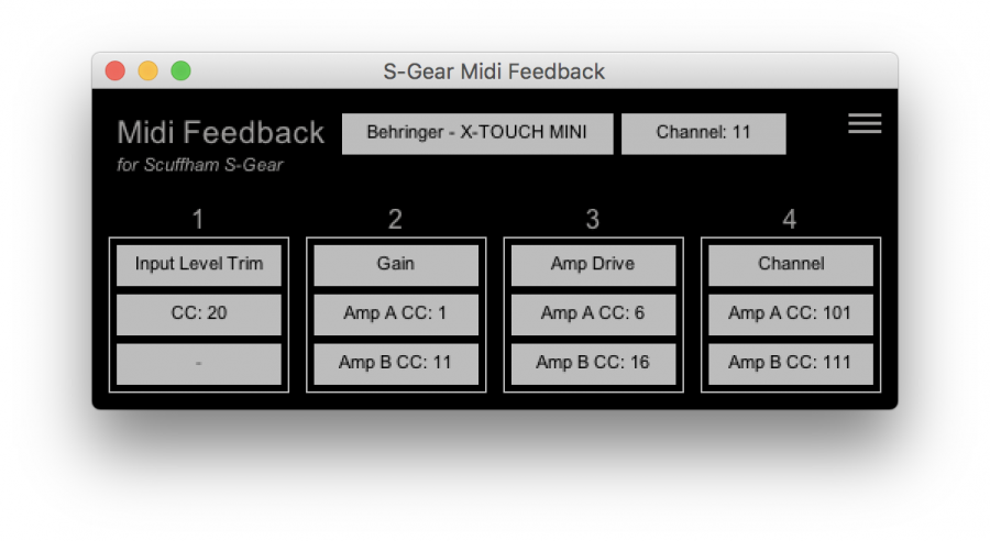 Midi Feedback to External Controllers (Reaper) - Scuffham Amps